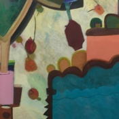 The Orchard: Water Tank, oil on canvas, 2016
