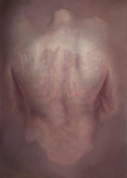 Painting by Megan McManus