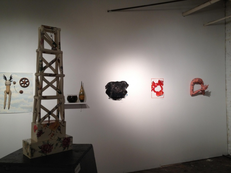 installation photo Arbitrary Relevance at Ground Floor, 1241 Carpenter Studios