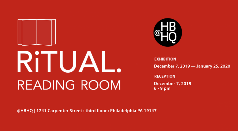 Fourth Biennial : RiTUAL Reading Room graphic