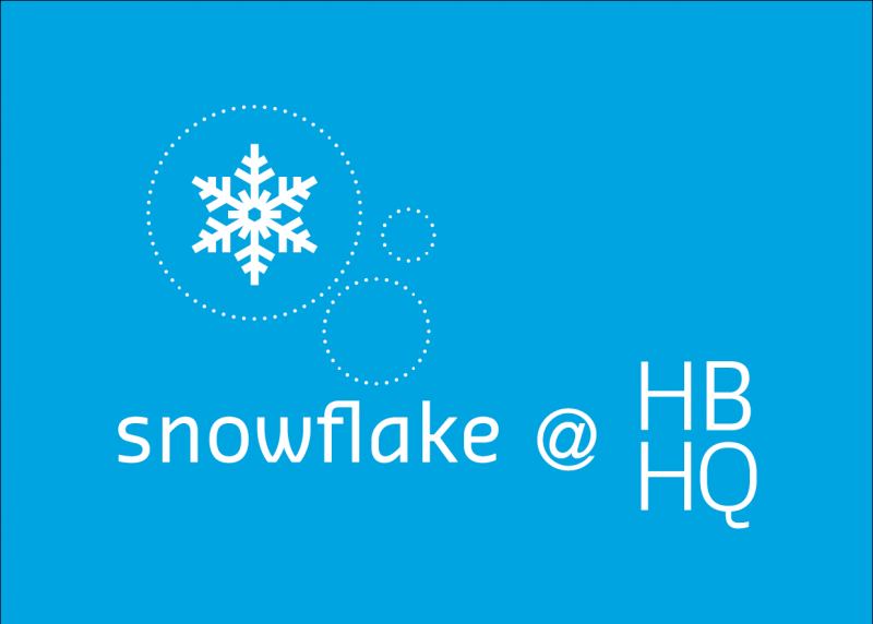 snowflake at HBHQ graphic