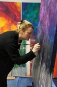 Contemporary Artist Kristin Schattenfield-Rein Maker