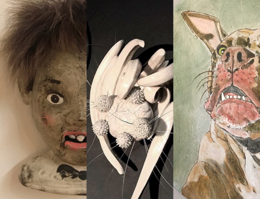 ARTWORK LEFT TO RIGHT Pam Lethbridge / Brooke Hine / Anne Koszalka